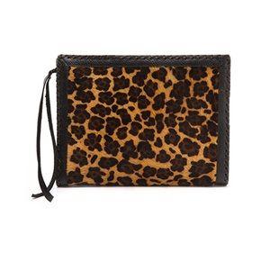 Cleobella | leopard clutch